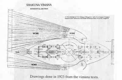 オーパーツ・ヴィマナの平面図