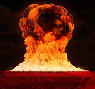 ヴィマナによる核戦争