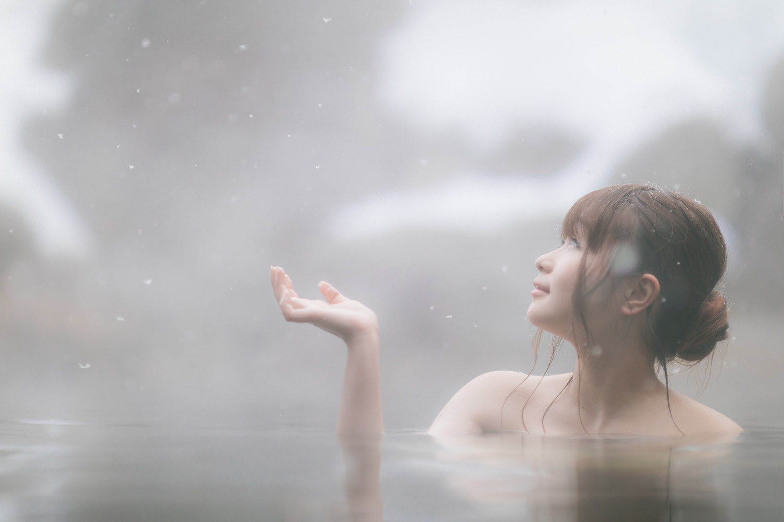 お風呂で美顔ローラーを使いたい女性